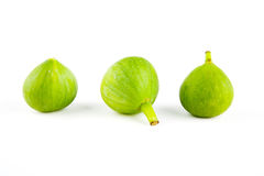 Figs isolated, sliced and fresh Stock Image