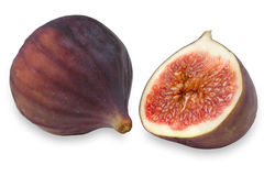Figs isolated on the white Royalty Free Stock Image