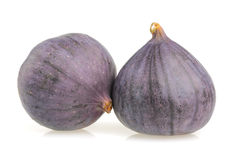 Figs isolated on white Royalty Free Stock Photos
