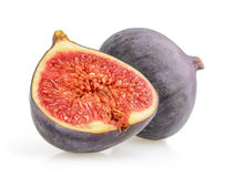 Figs isolated on white Stock Photography