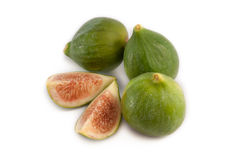 Figs isolated on white background Stock Photography
