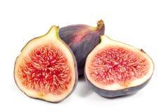 figs isolerade white Fotografering för Bildbyråer
