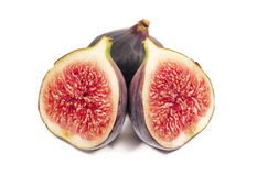 figs isolerade white Royaltyfria Foton