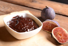 Figs jam Royalty Free Stock Photos