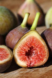 Figs. Little fresh vine figs in perfect maturity royalty free stock photos