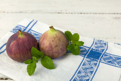 Figs on old table Stock Images