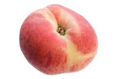 Figs peach fruit on white Stock Image