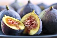figs plate skivat Arkivfoto