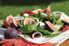 Figs salad Stock Photos