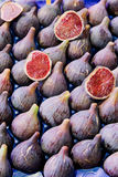 Figs for sale Stock Photo