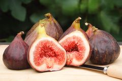 Figs still life Stock Image