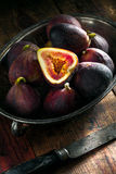 Figs still life Royalty Free Stock Photo