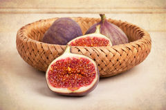Figs still life Stock Photography