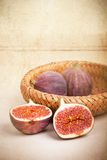 Figs still life Royalty Free Stock Photography