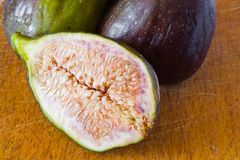 Figs on the table Stock Photo