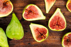 Figs on table Royalty Free Stock Image