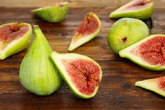 Figs on table Stock Images