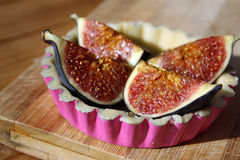 Figs tart Royalty Free Stock Images