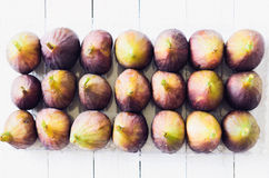Figs in a tray Royalty Free Stock Images