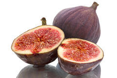 Figs and two halves Stock Photos