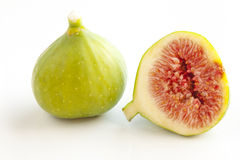 Figs on white background Stock Image