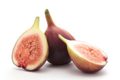 Figs on white background Stock Photography
