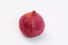 Figs on a white background , juicy and ripe. A ripe and juicy purple cut and be on a white background Stock Photography
