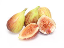 Figs in a white background Stock Photos