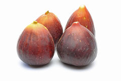 Figs in a white background Royalty Free Stock Photography