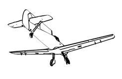 Figter trop Messerschmitt BF109 Стоковые Фотографии RF