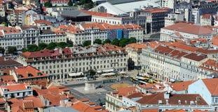 Figtree kwadrat, Lisbon, Portugalia zdjęcie stock