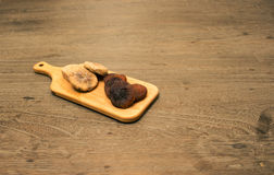 Figue et abricot Image libre de droits