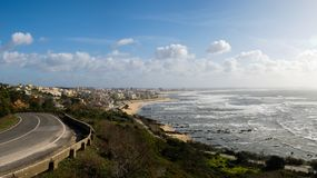 Cape Mondego Viewpoint Figueira da Foz Stock Photo