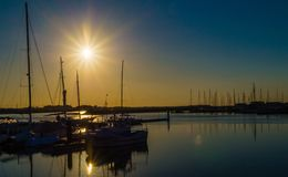 Figueira da Foz - Portugal, the port royalty free stock images