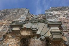Figueira de Castelo Rodrigo Village Castle, Portugal stock photography