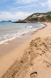 Figueral beach in Ibiza Stock Photo