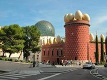 Figueras, España - 17 de octubre de 2013 - teatro casero Dali Foto de archivo libre de regalías