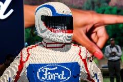 Figuere di Ford fatto da Lego Fotografia Stock Libera da Diritti