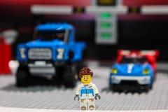 Figuere di Ford fatto da Lego Fotografia Stock