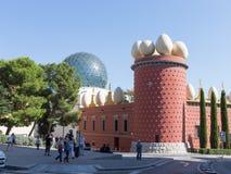Figueres θέατρο-μουσείο του Salvador Dali Στοκ Εικόνες