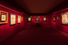 Figueres, Ισπανία - 12 Νοεμβρίου 2017: Μουσείο του Salvador Dali σε Figeras Στοκ Εικόνες