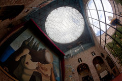 figueres dali μουσείο Ισπανία Στοκ φωτογραφία με δικαίωμα ελεύθερης χρήσης