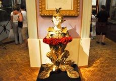 FIGUERES, ESPAGNE 6 AOÛT : Intérieur de Dali Theatre et du musée en août 6,2009 à Figueres. Image stock