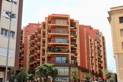 FIGUERES, SPAIN � JULY 17, 2013: Modern building in Figueres, Stock Photography