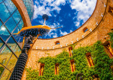 In Figueres in Spain Royalty Free Stock Images