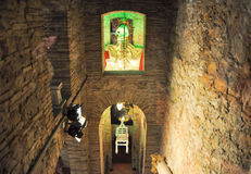 FIGUERES, SPAIN-AUGUST 6: Interior of the Dali Th. Interior of the Dali Theatre and Museum on August 6,2009 in Figueres. Dali Theatre and Museum is a museum of stock images