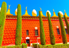 In Figueres in Spain Royalty Free Stock Image