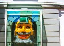 Figueres Spanien - Maj 07, 2007: Teatermuseum Dali, surrealistisk konstnär Salvador Dali Museum som lokaliseras i staden av Arkivbild
