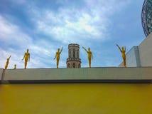 Figueres Spanien - September 15, 2015: Dali Museum i Figueres, Spanien Royaltyfria Bilder