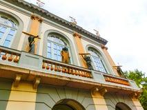 Figueres Spanien - September 15, 2015: Dali Museum i Figueres, Spanien Arkivbild